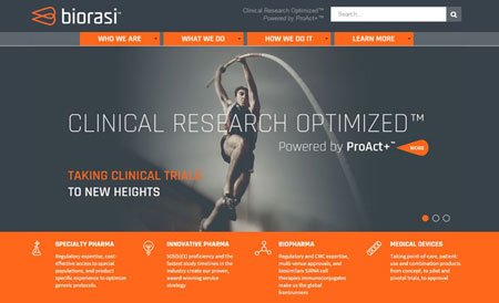 biorasi website