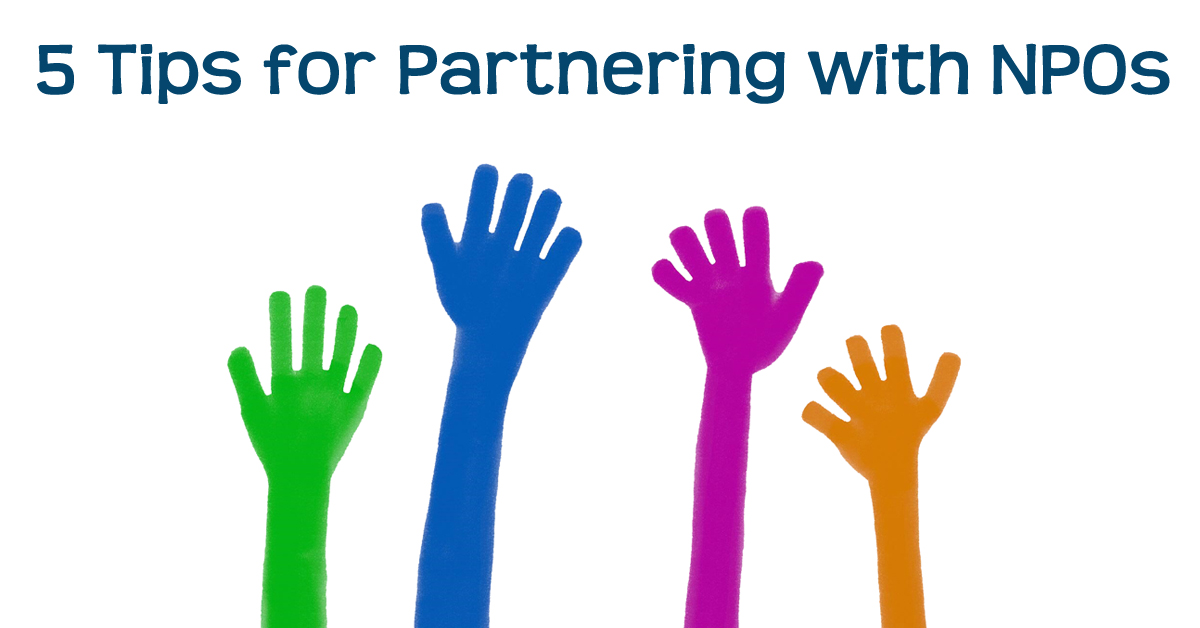 5 Tips for Partnering with Nonprofits