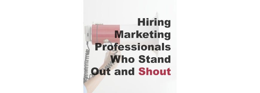 hiring marketing professionals